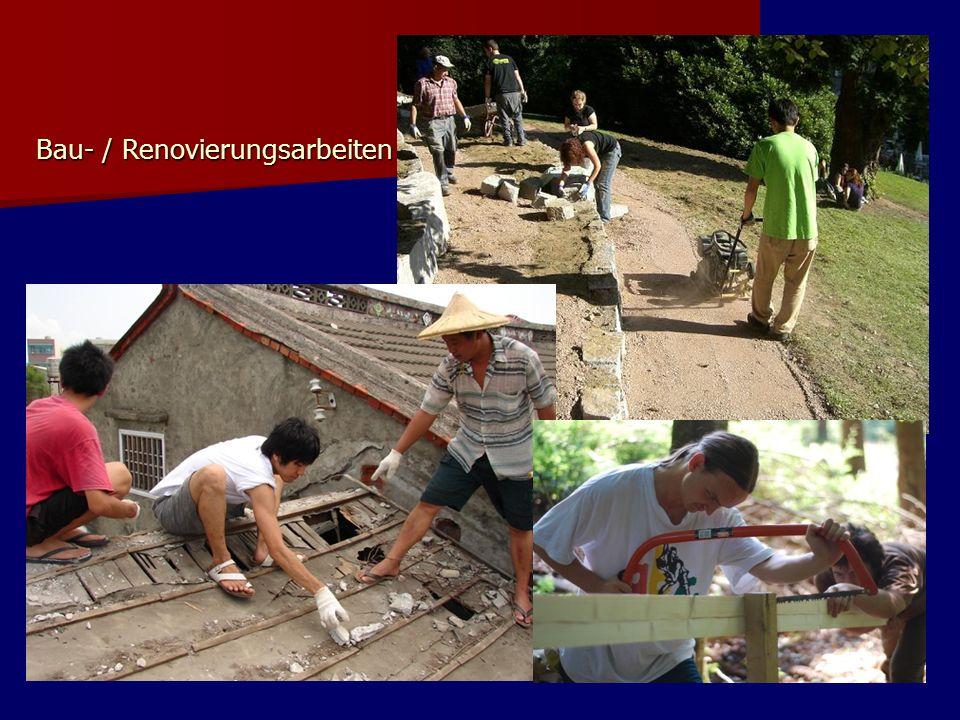 Bau- / Renovierungsarbeiten Bau- / Renovierungsarbeiten
