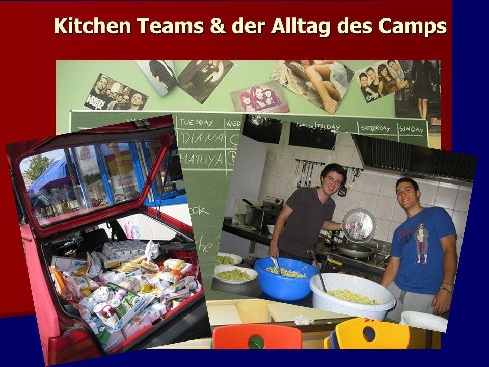 Kitchen Teams & der Alltag des Camps