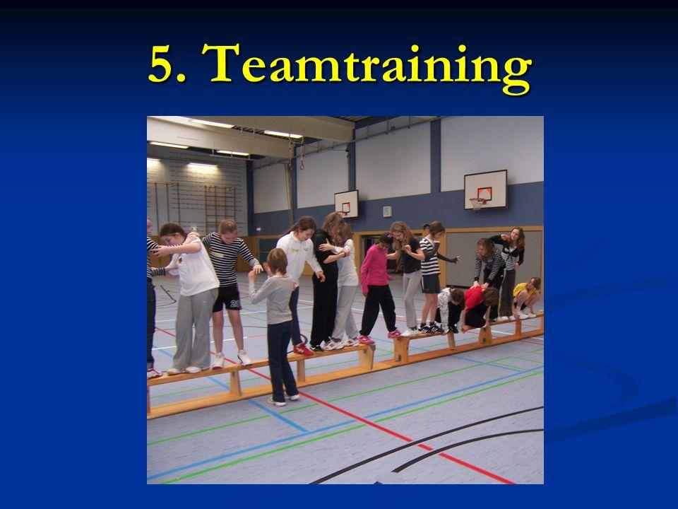 5. Teamtraining