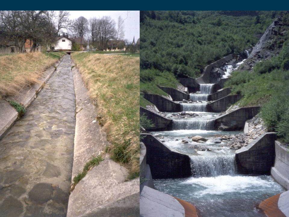 18 EU-WRRL Öffentlichkeitsbeteiligung Erheblich veränderte Wasserkörper (heavily modified) signifikante Auswirkung - keine bessere Umweltoption STAU – zur Energiegewinnung z.B.