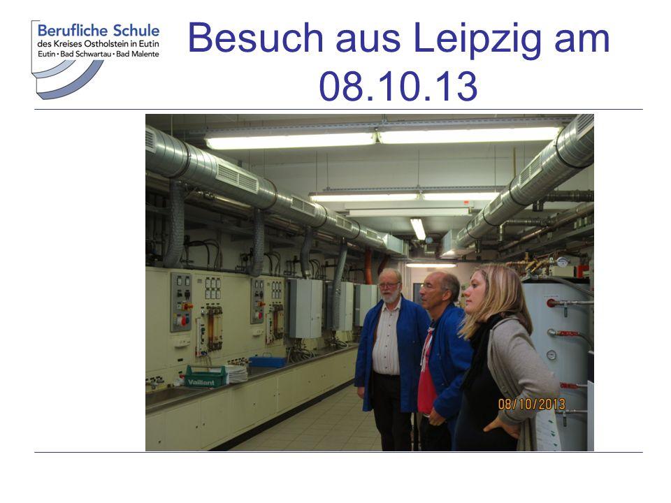 Ingenieure der TU HH Harburg zu Besuch