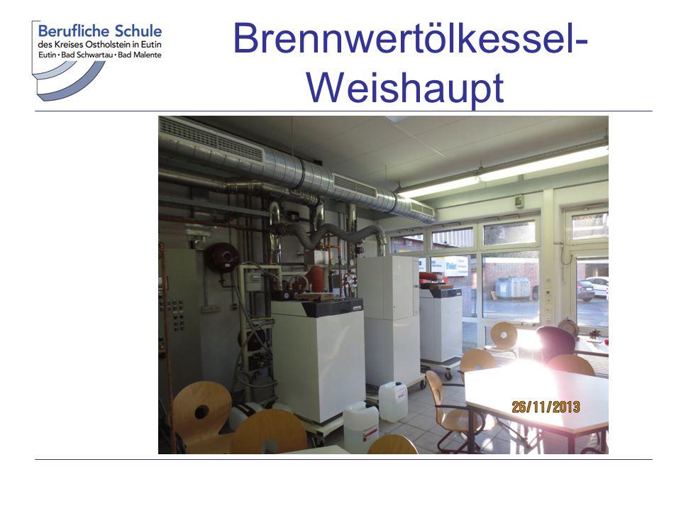 Brennwertölkessel- Weishaupt