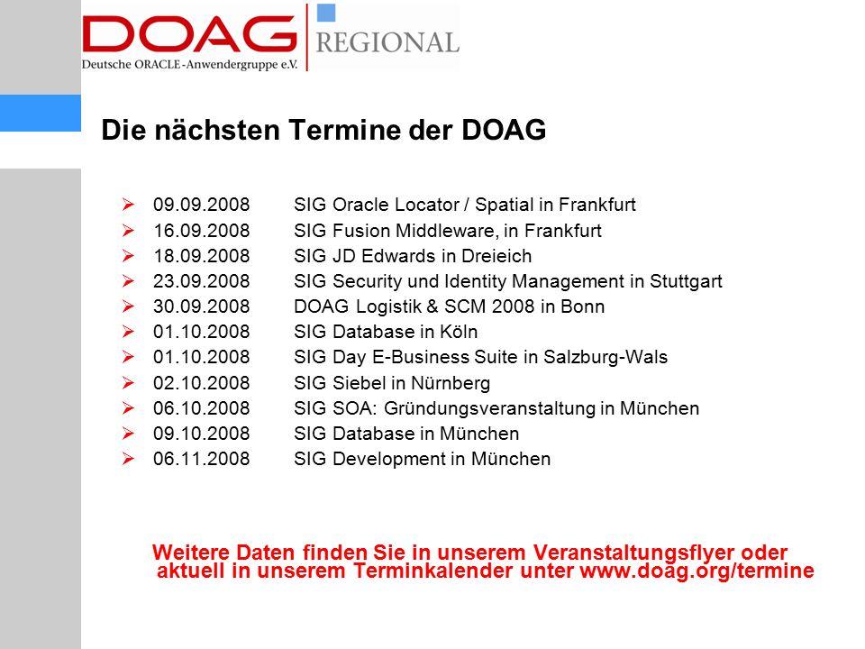 DOAG News und eNewsletter  DOAG News im Dialog - Q&A in der News.
