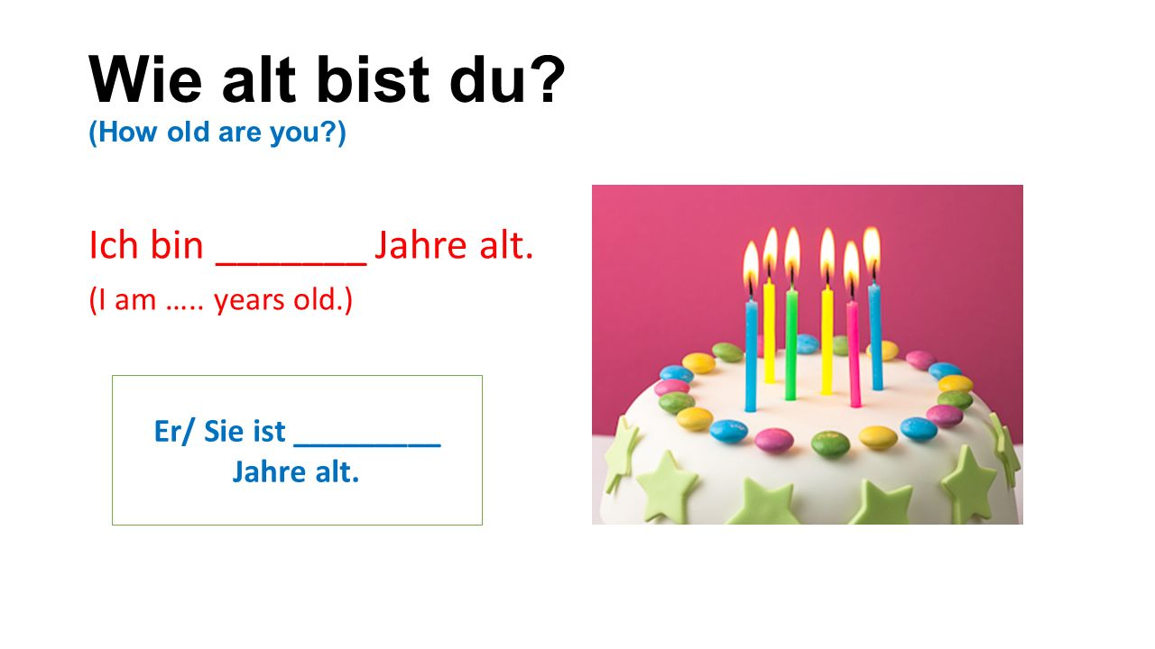 Wie bist du so.Benutze ein Adjectiv. (What type of person are you.