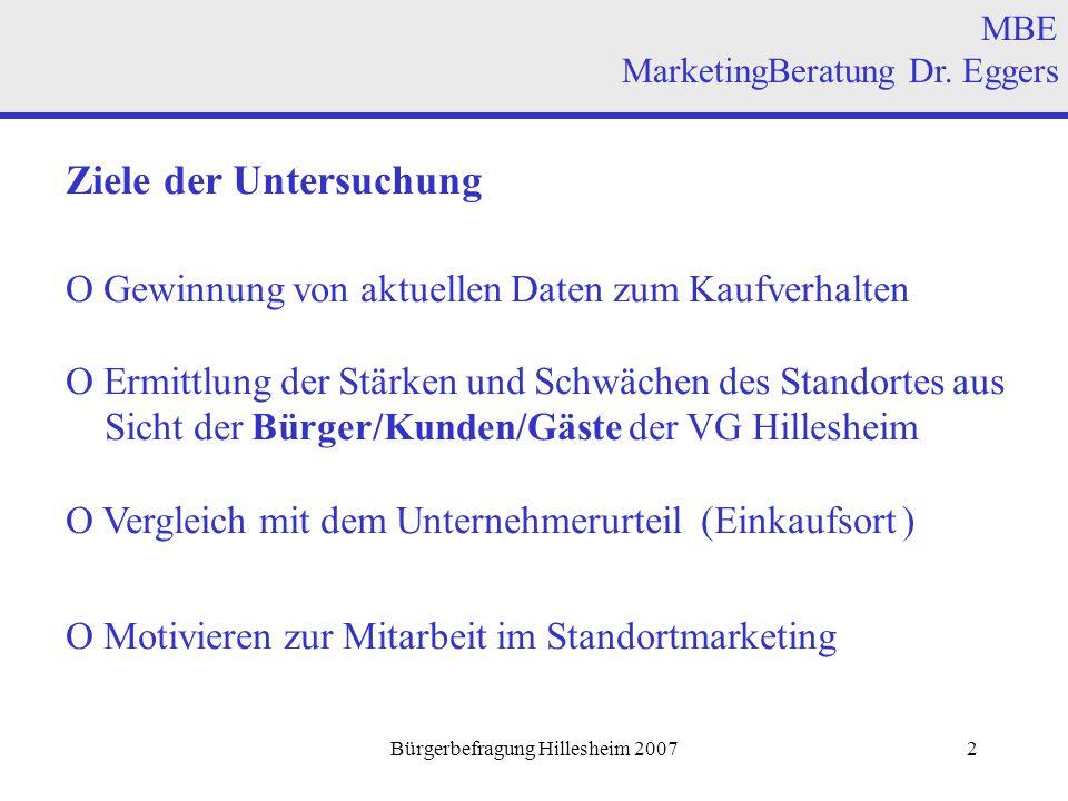 Bürgerbefragung Hillesheim 200713 MBE MarketingBeratung Dr.