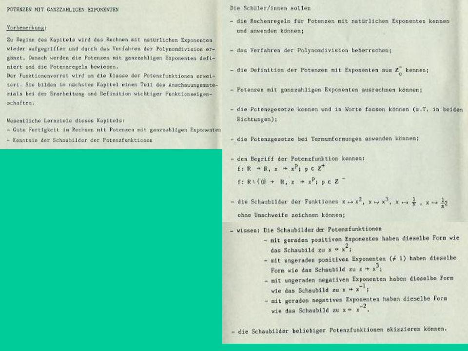 Kompetenzorientierter Kern-LP z.B.: Lehrpläne Gesamtschule Saarland, ERS Saarland, LP Nordrhein-Westfalen,...