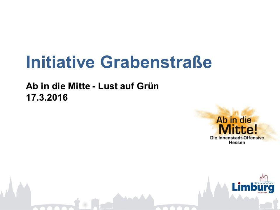 Initiative Grabenstraße Ab in die Mitte - Lust auf Grün 17.3.2016