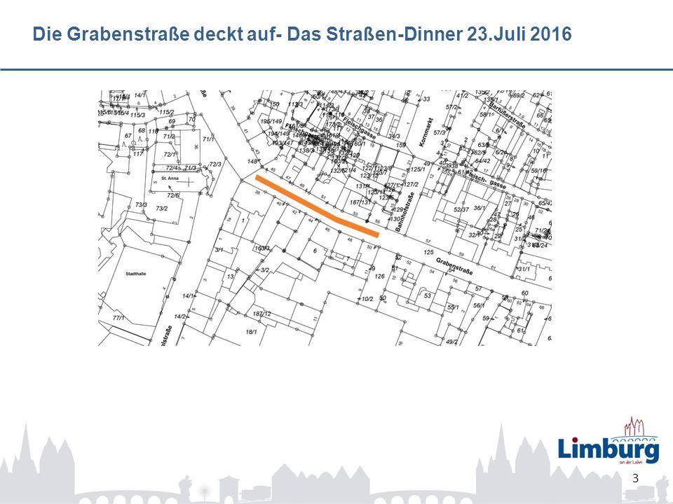 Die Grabenstraße deckt auf- Das Straßen-Dinner 23.Juli 2016 3
