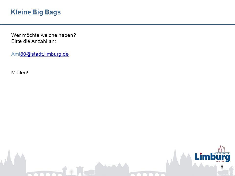 Patenschaften 9 Big Bag Nr.