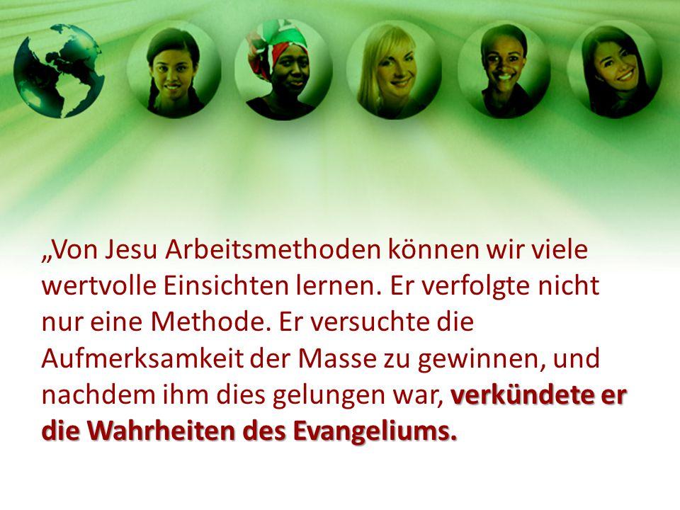 verkündete er die Wahrheiten des Evangeliums.