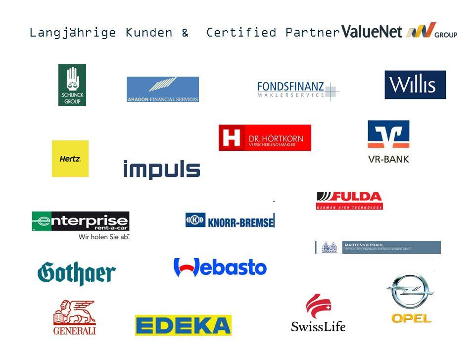 Langjährige Kunden & Certified Partner