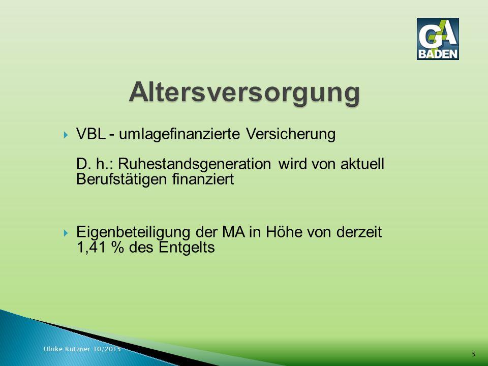  KZVK-Versicherung - kapitalgedeckte Finanzierung D.