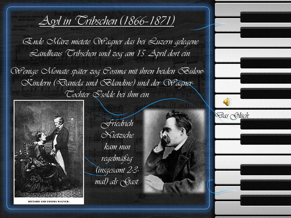 Die Bayreuther Jahre (1872–1881) Er war 1873 oft auf Konzertreisen, um Geld für seine Festspiel-Stiftung einzuspielen.