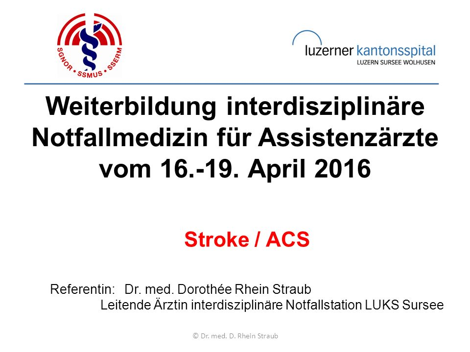 © Dr. med. D. Rhein Straub = oberer Normalwert