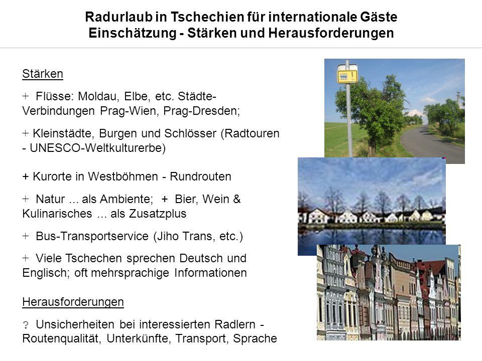 Stärken + Flüsse: Moldau, Elbe, etc.