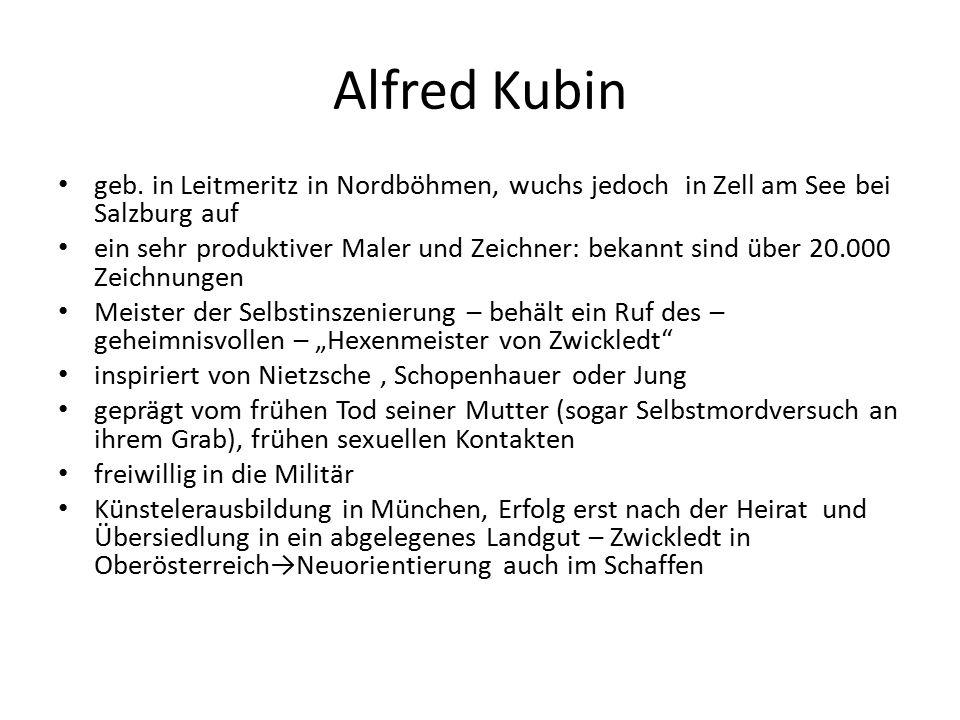 Alfred Kubin geb.