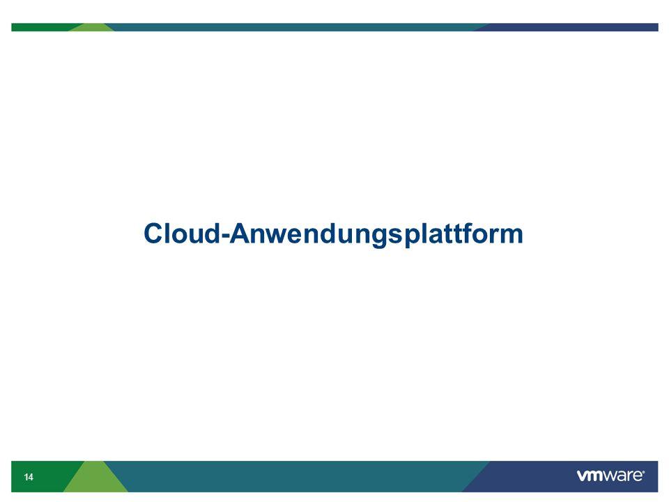 14 Cloud-Anwendungsplattform