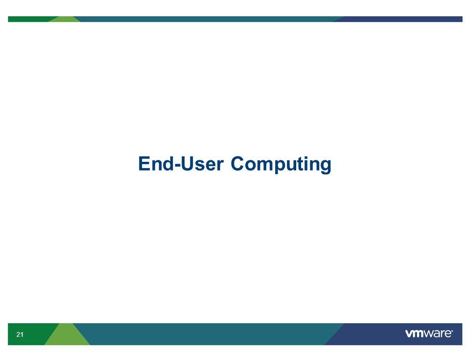 21 End-User Computing