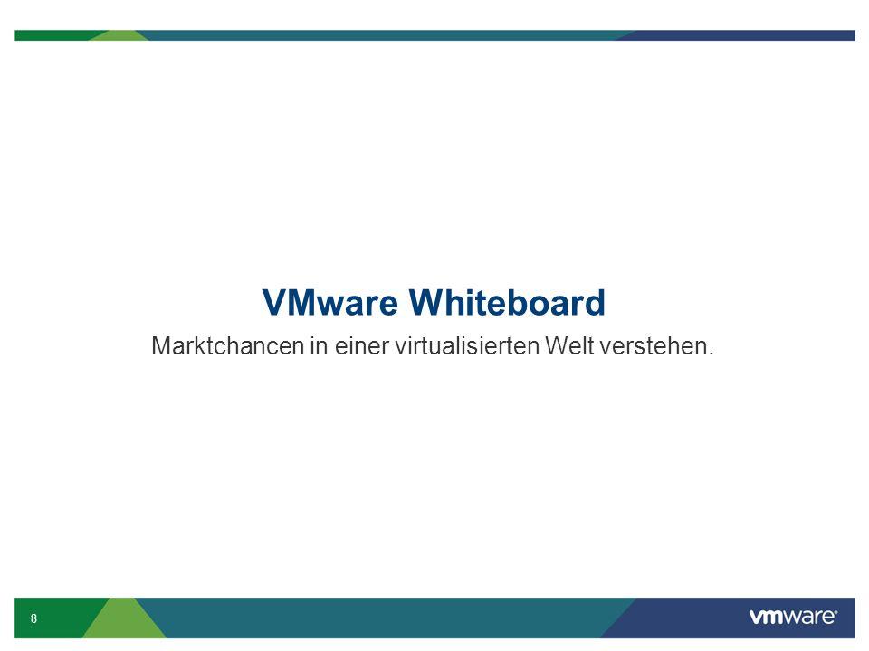 8 VMware Whiteboard Marktchancen in einer virtualisierten Welt verstehen.