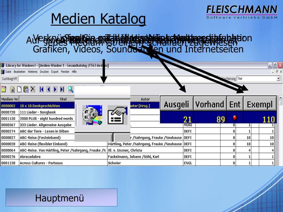 Hauptmenü Barcode Druckmodul Öffnen Sie die Medienliste im HauptmenüWählen Sie die DruckfunktionWählen Sie im Druckmenü die Barcode DruckfunktionIhre Barcode Etiketten werden ausgedruckt