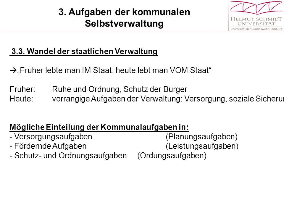 3.Aufgaben der kommunalen Selbstverwaltung 3.3.