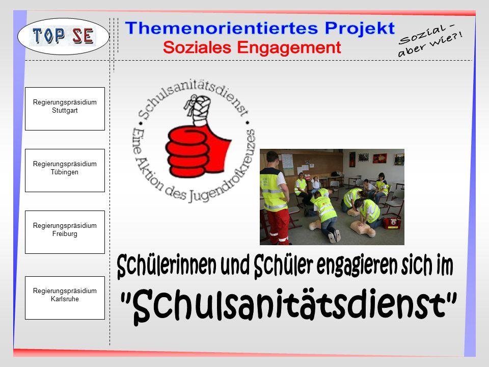 Regierungspräsidium Stuttgart Regierungspräsidium Tübingen Regierungspräsidium Freiburg Regierungspräsidium Karlsruhe