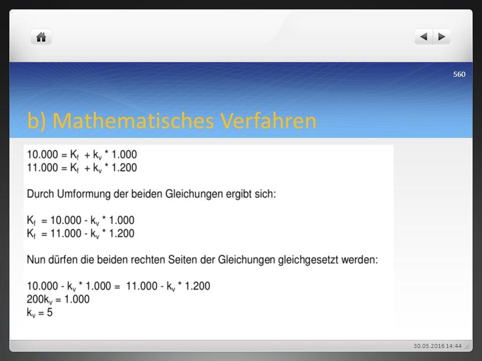 b) Mathematisches Verfahren 30.05.2016 14:47 560