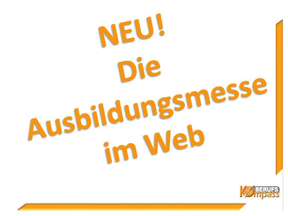 NEU! Die Ausbildungsmesse im Web