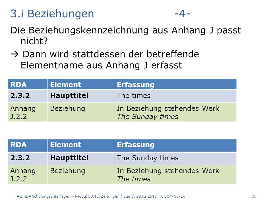 3.i Beziehungen-4- Die Beziehungskennzeichnung aus Anhang J passt nicht.