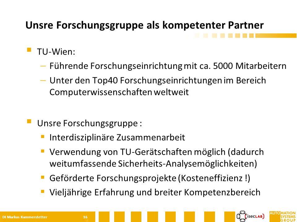  TU-Wien:  Führende Forschungseinrichtung mit ca.