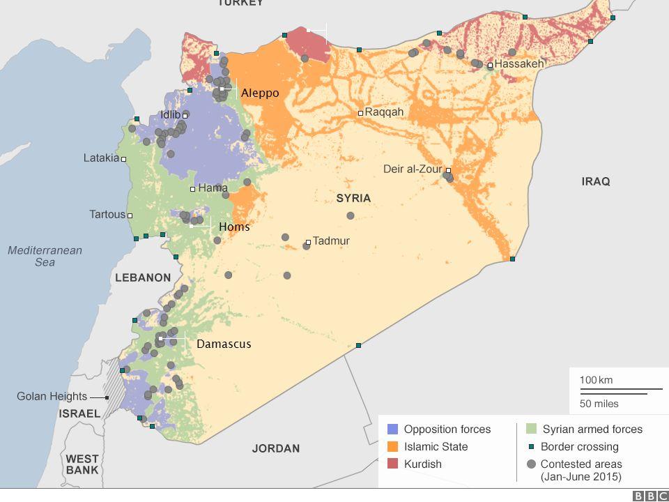 Damascus Homs Aleppo