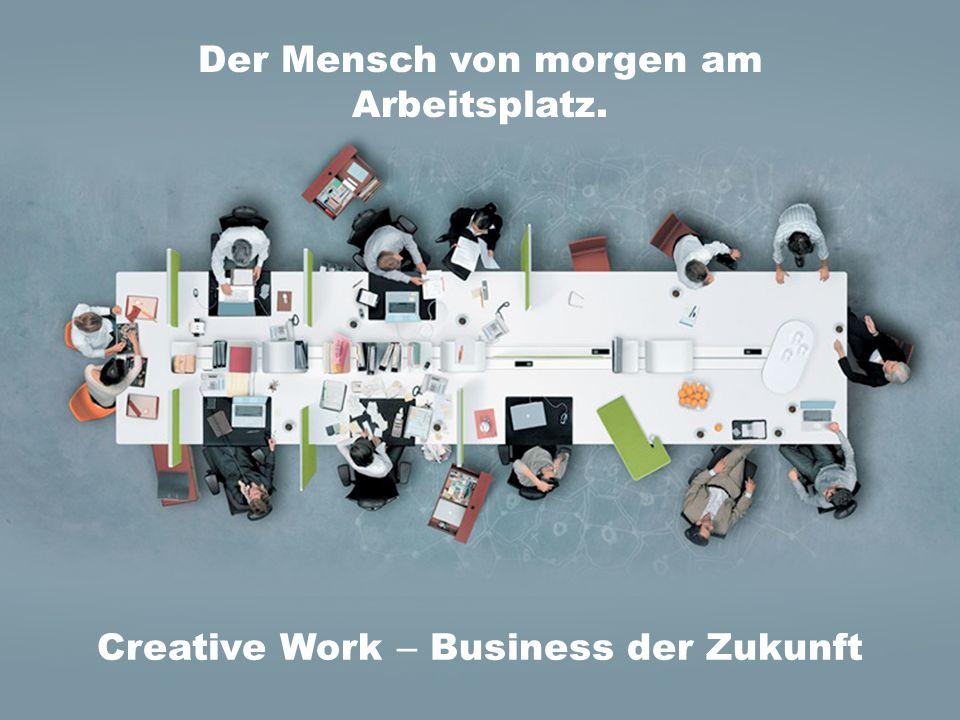 Der Mensch von morgen am Arbeitsplatz. Creative Work – Business der Zukunft