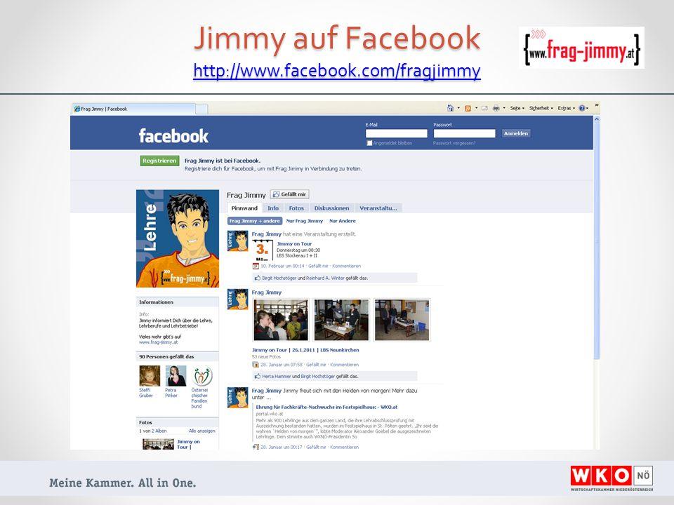 Jimmy auf Facebook http://www.facebook.com/fragjimmy http://www.facebook.com/fragjimmy