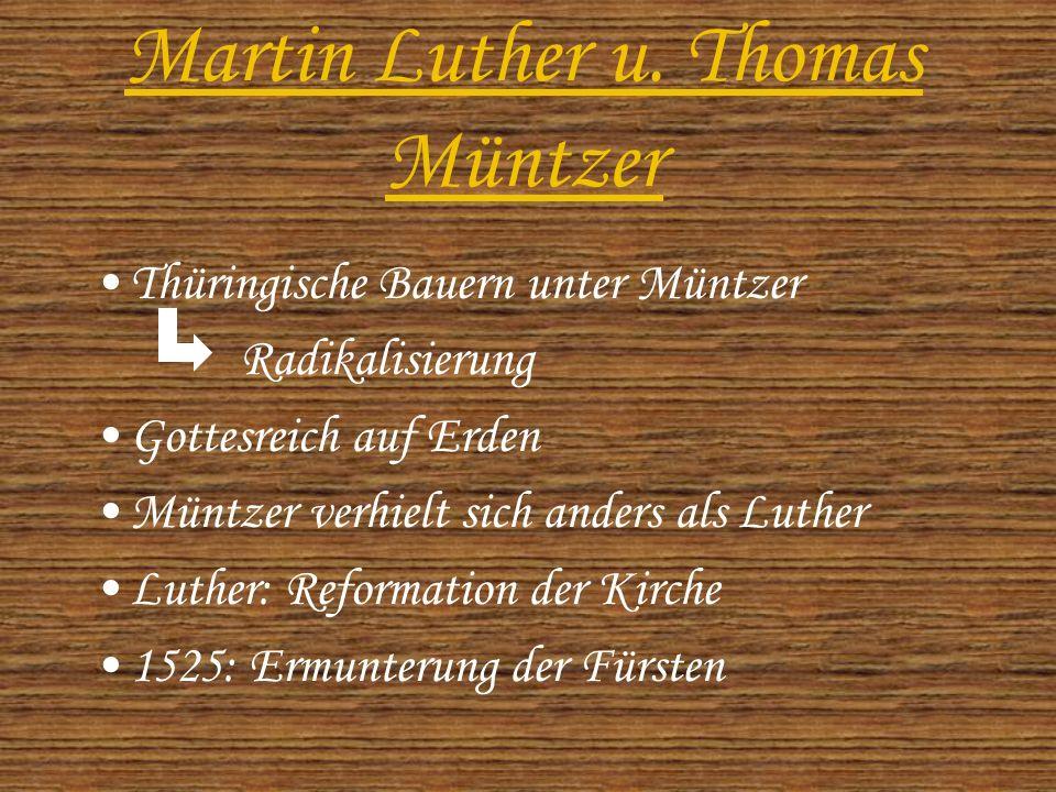 Martin Luther u.