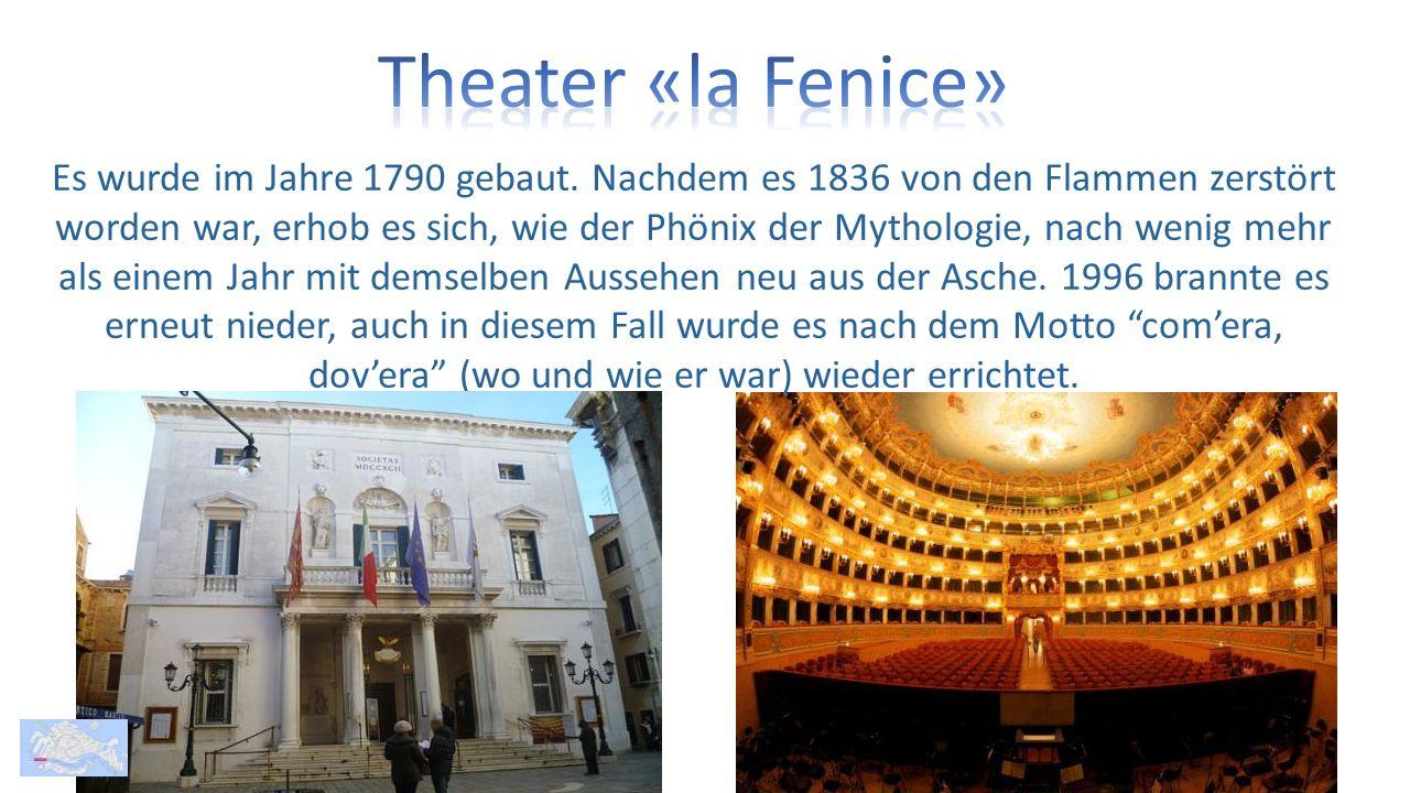 Es wurde im Jahre 1790 gebaut.