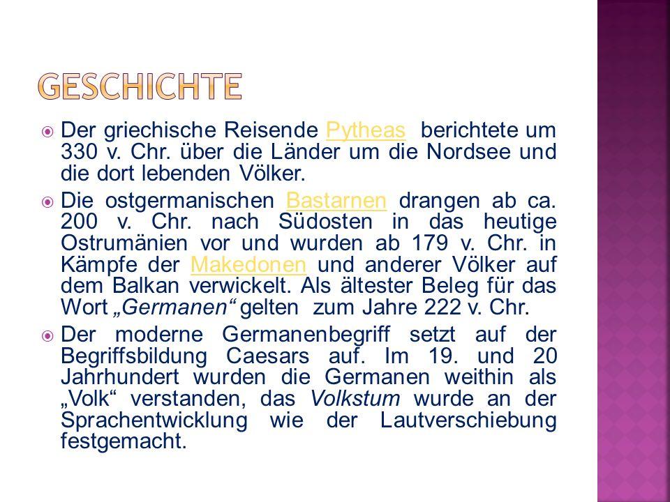  Für die Forschung zur frühen Entwicklung der germanischen Stämme werden archäologische, linguistische, historisc he und genetische Erkenntnisse genutzt.