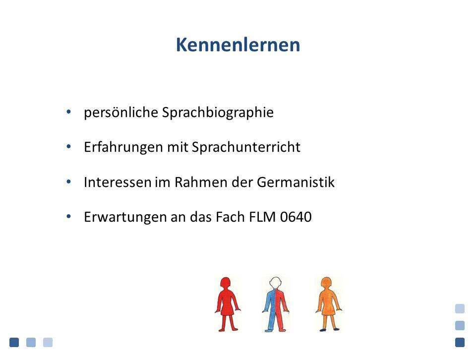 Sprachen Edmondson/House (2006, p. 8)