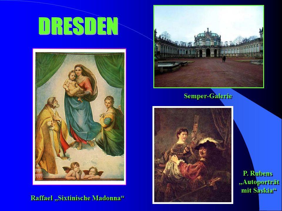 "Semper-Galerie P. Rubens ""Autoporträt mit Saskia P."