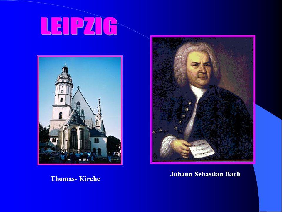 Thomas- Kirche Johann Sebastian Bach