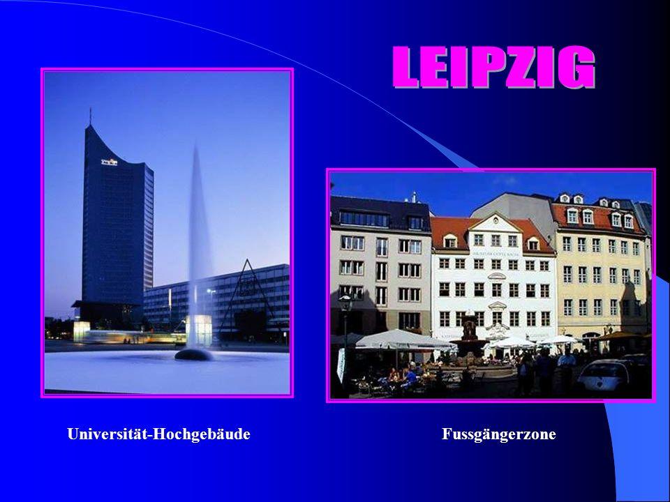 Universität-HochgebäudeFussgängerzone
