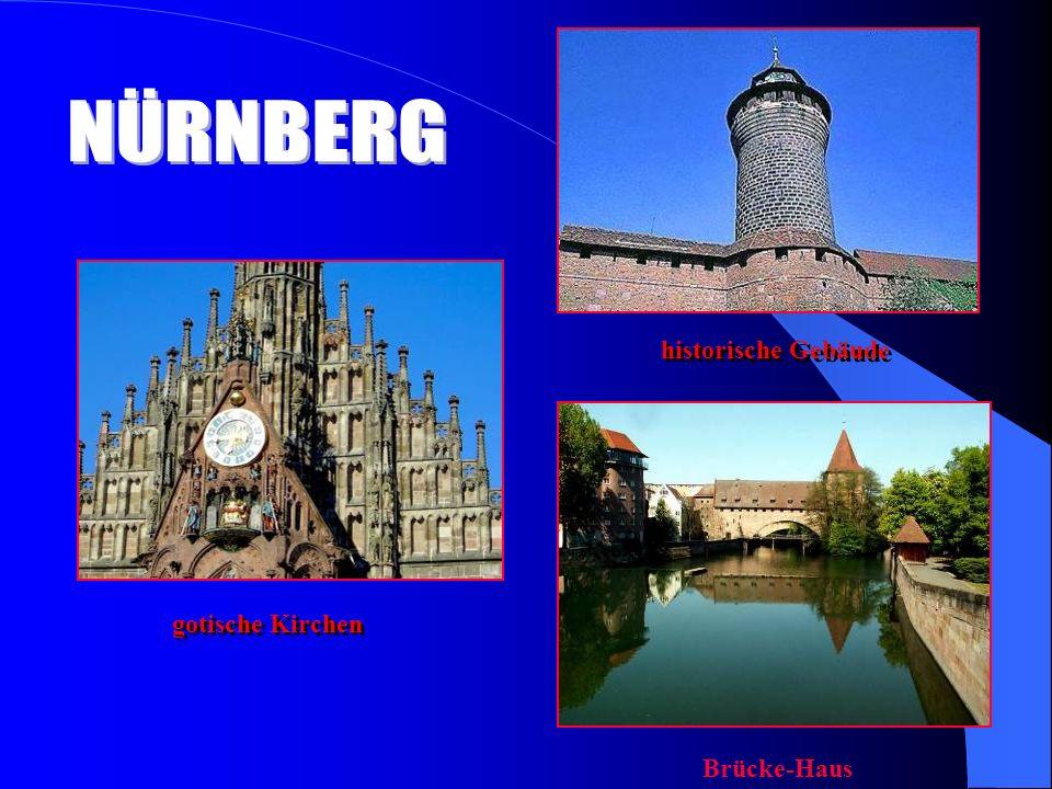 gotische Kirchen historische Gebäude Brücke-Haus