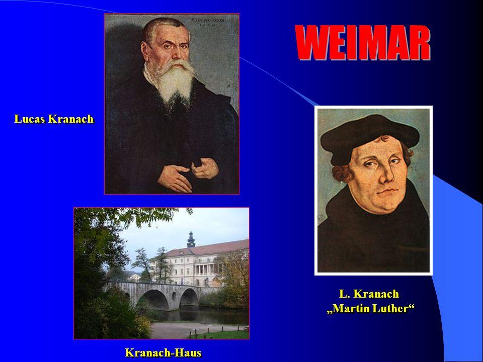 "Lucas Kranach L. Kranach ""Martin Luther L. Kranach ""Martin Luther Kranach-Haus"