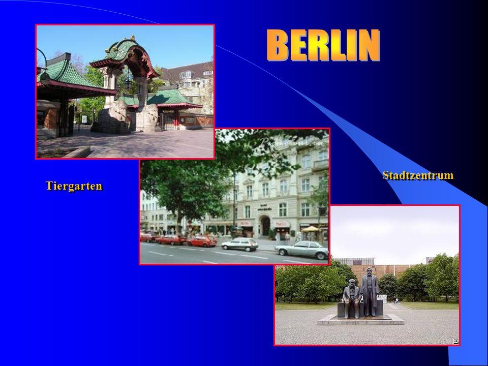 Tiergarten Stadtzentrum