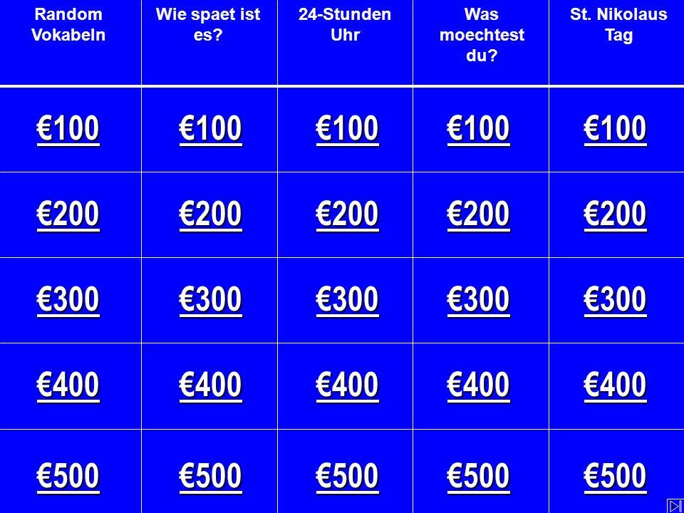 Starke Verben (mit sein ) - €500 Fill in the blank.