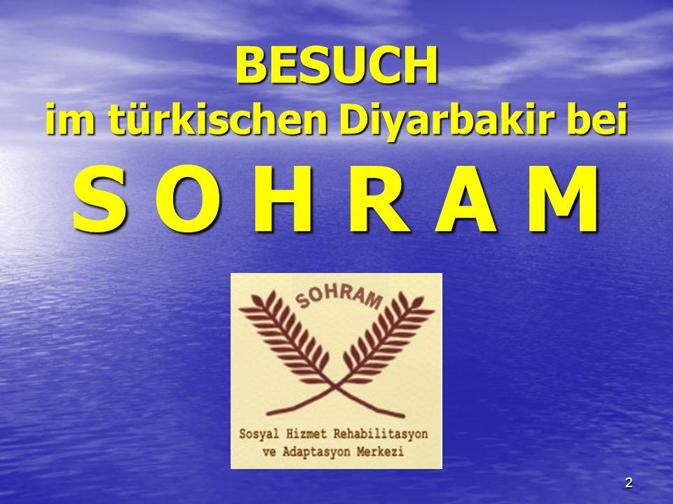 53 Diese Präsentation wurde realisiert von Susanne Zbären, Yavuz Binbay und Mario Oppizzi CH-10/2009 – V 4.10_DE_autotime Adresse des Zentrums: SOHRAM - CASRA Kurt Ismail pasa 2.sokak Demiray Apt.