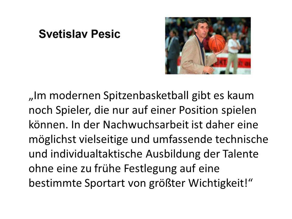 """""""Im modernen Spitzenbasketball gibt es kaum noch Spieler, die nur auf einer Position spielen können."""