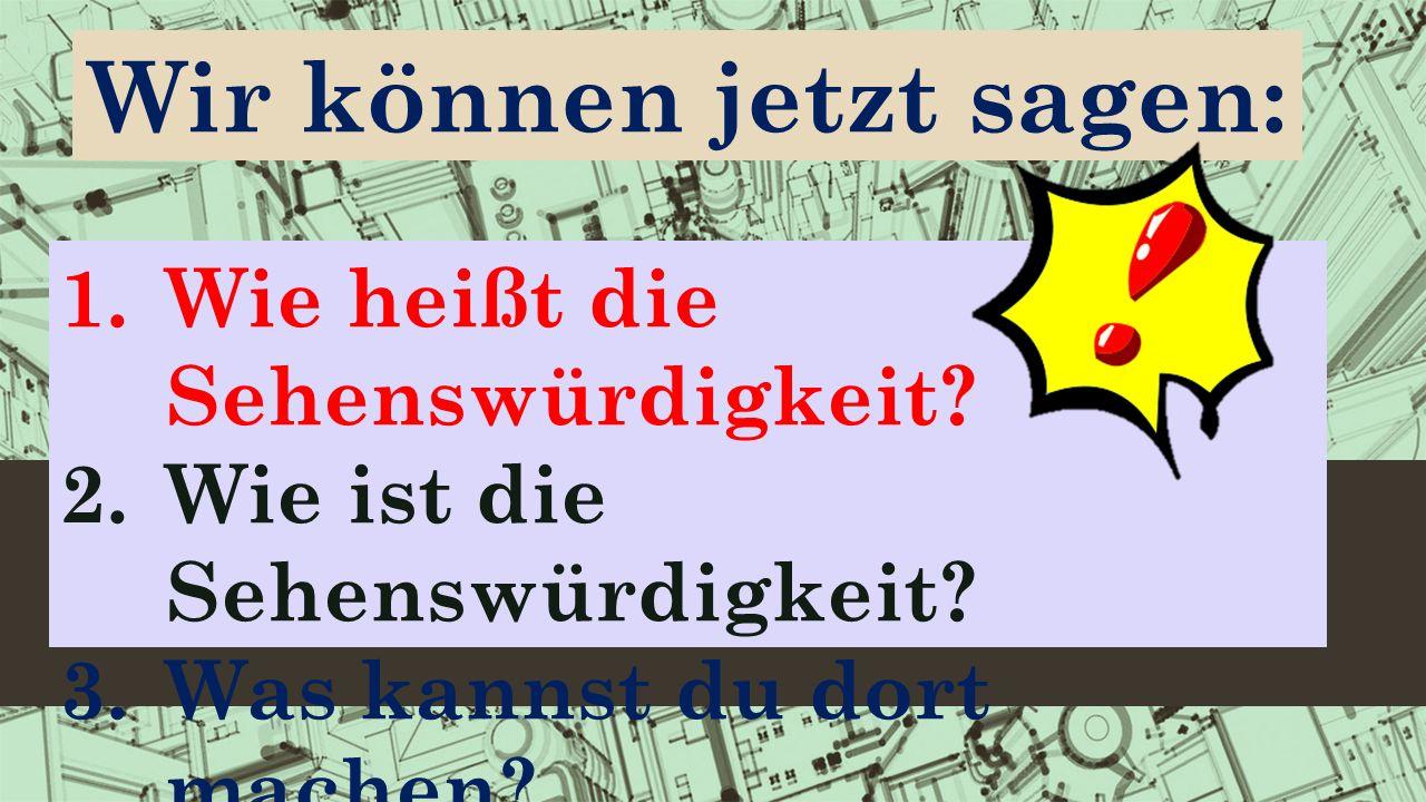Reflexion -neue Lexik üben; -die Sehenswürdigkeiten von Köln und Bonn nennen; -sie kurz charakterisieren