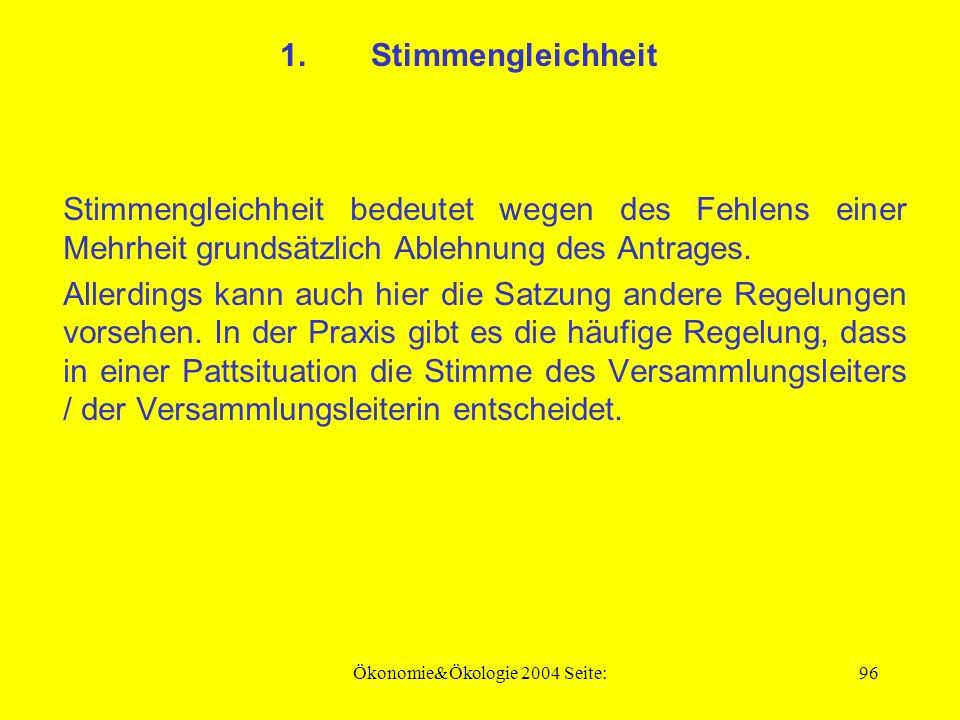 Ökonomie&Ökologie 2004 Seite:95 1.