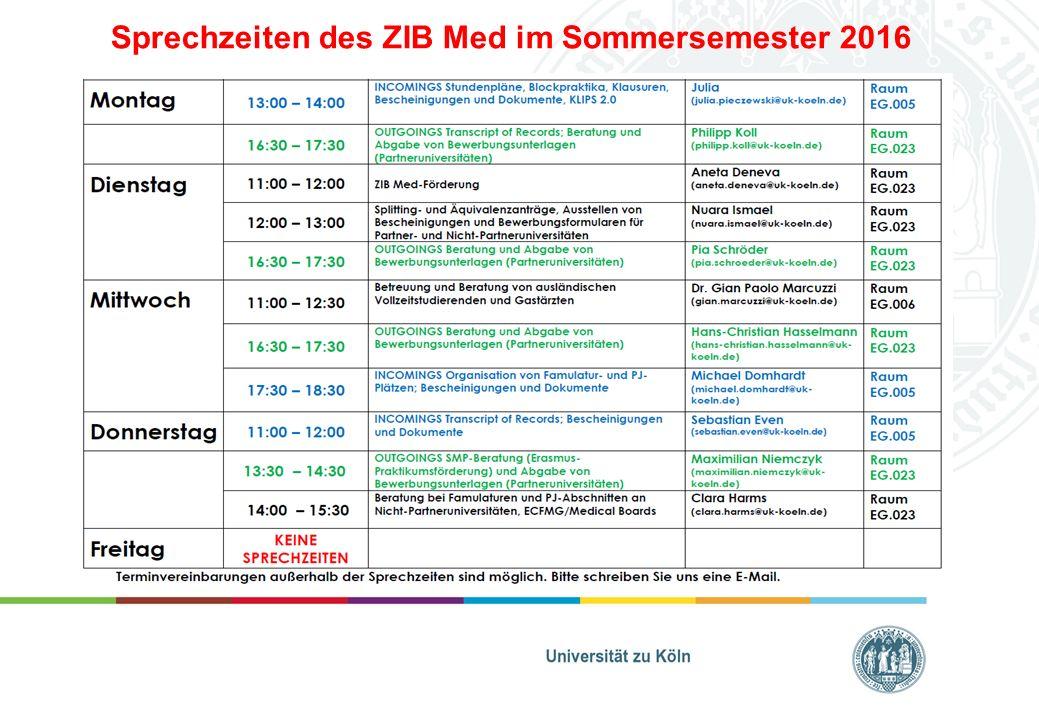 Sprachkurse der Philosophischen Fakultät: https://klips.uni-koeln.de/https://klips.uni-koeln.de/ des Professional Center der Universität zu Köln: http://www.professionalcenter.uni-koeln.de/sprachangebot.php http://www.professionalcenter.uni-koeln.de/sprachangebot.php individuelle Sprachkurse können über das ZIB Med finanziert werden, wobei wir Mithilfe im ZIB Med erwarten, z.B.