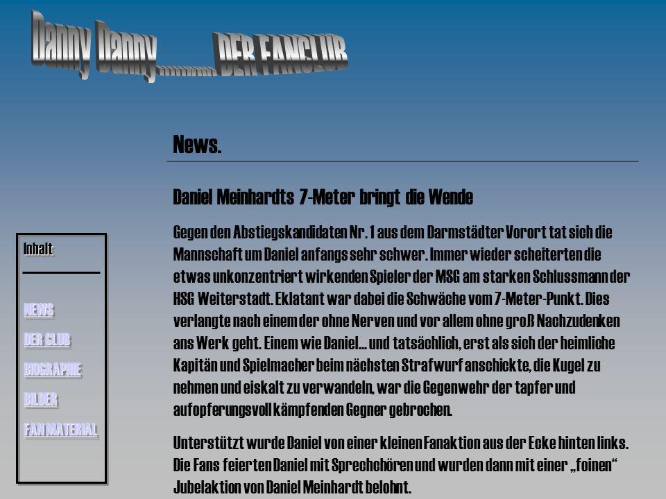 News.Daniel Meinhardts 7-Meter bringt die Wende Gegen den Abstiegskandidaten Nr.